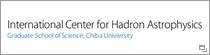 International Center for Hadron Astrophysics