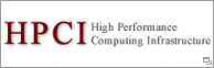 High Performance Computing Infrastructure