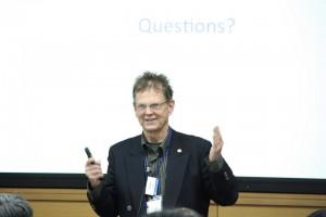HPCI戦略プログラム分野5で招聘したJ. Vary教授が講義する