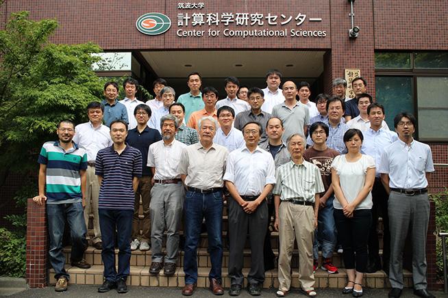 研究会「有限温度密度系の物理と格子QCDシミュレーション」集合写真