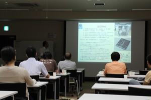研究会「有限温度密度系の物理と格子QCDシミュレーション」会場の様子