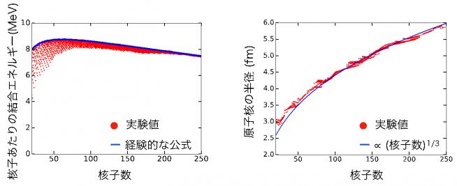 図1:原子核の飽和性