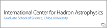 International Center for Hadron Astrophysics